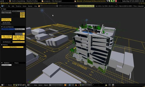 Workflow to create architectural visualization in Linux - Blender ...