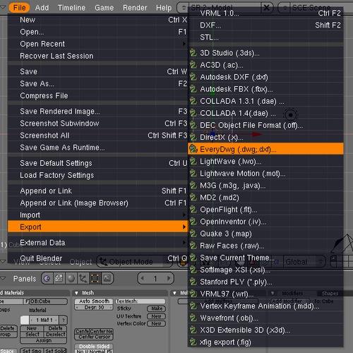 blender3d-dwg-importing