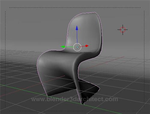 Modeling a Panton Chair in Blender 3D • Blender 3D Architect