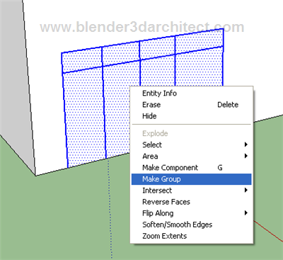 How to quickly model windows for architectural visualization