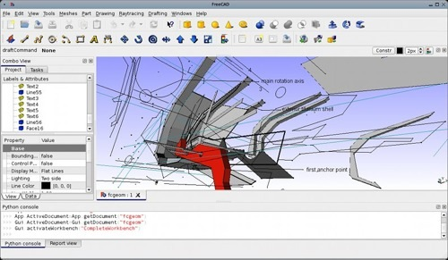 List of open source and free alternatives to autocad Opensource cad dwg