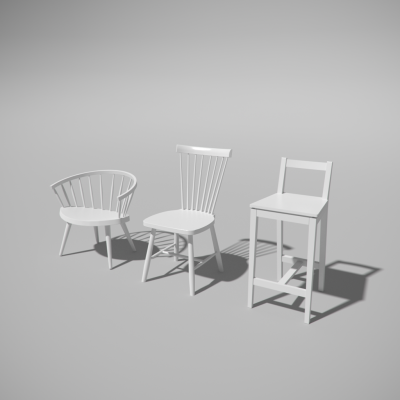 Download Chair Collection Blender