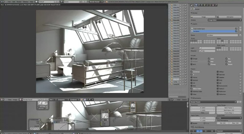 Blender-Render-Interior-Scene