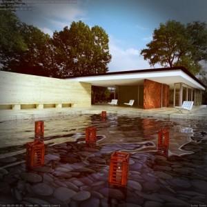 free-download-Barcelona-Pavilion-Mies-van-der-Rohe