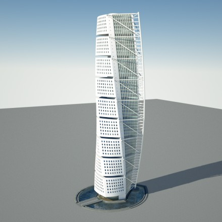 free-download-turning-torso-blender