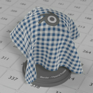 Free download of a fabric material for Blender Cycles • Blender 3D