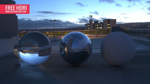 Free HDRI maps for download