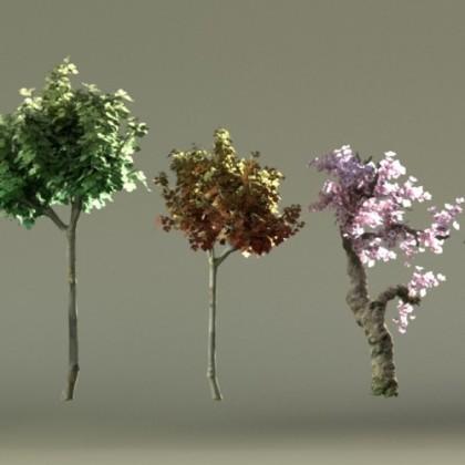 blender-trees