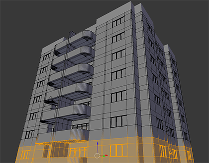 Course About Architectural Modeling With Blender
