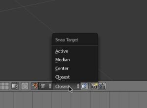 Figure 1.8 - Snap target