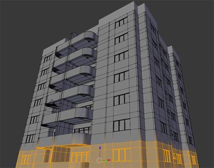blender_archi_modeling