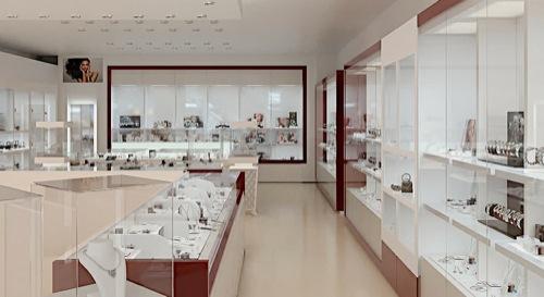 Jewelry Store Design Made In Blender Blender 3d Architect