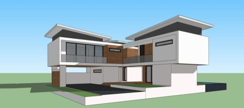 From sketchup to blender blender 3d architect for Google house design