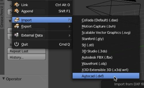 How to import DWG files to Blender? • Blender 3D Architect