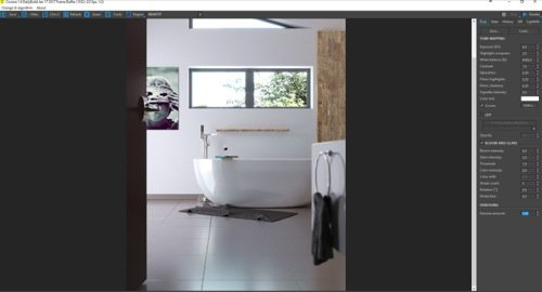 Free download of a bathroom in blender and corona for Rendering gratis