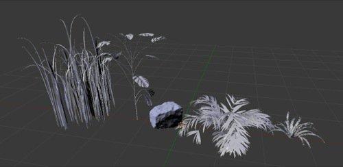 Free plants models with textures for Blender • Blender 3D Architect