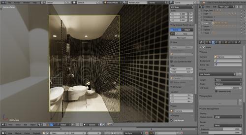Eevee interior visualization