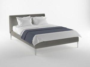 Four free bed models for Blender