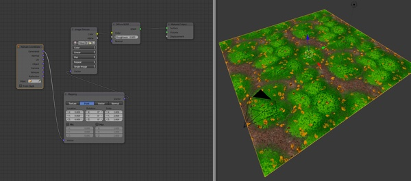 Free forest floor PBR texture set