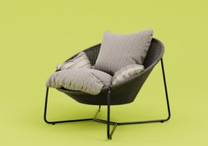 Morocco Oval Lounge Chair