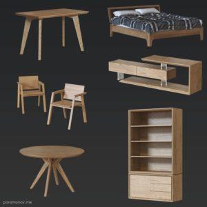 seamless PBR wood textures