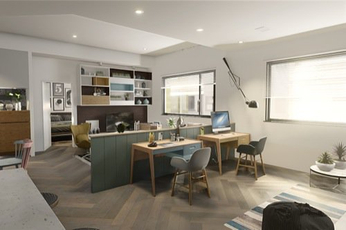 Interior rendering: From Revit to Blender Eevee