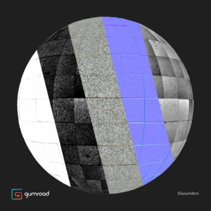 Eight free photogrammetry PBR textures