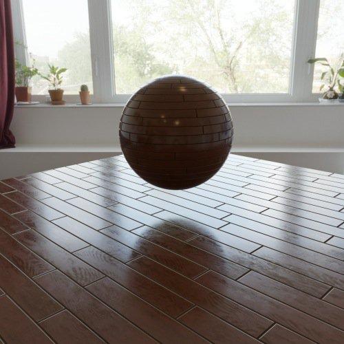 Free wood floor PBR textures in 4K