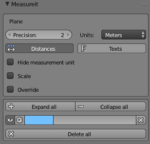 Controlling units with the MeasureIt Add-on: Metric and Imperial