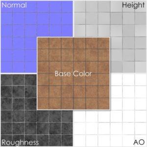 Free floor tiles PBR