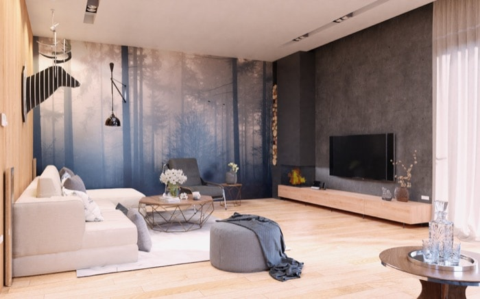 Realistic interior with Cycles and source scene • Blender 3D Architect