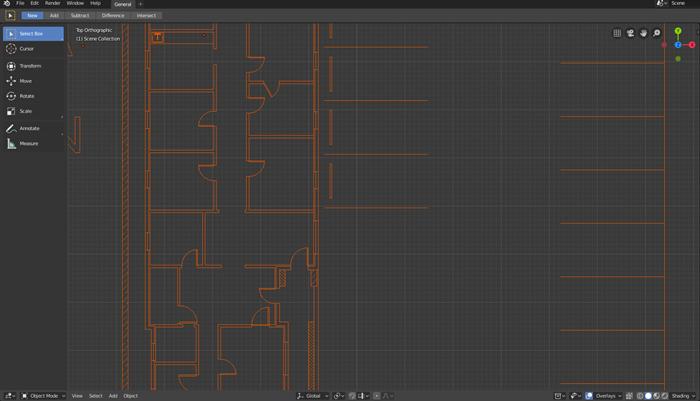 Importing DXF files to Blender 2 8 • Blender 3D Architect