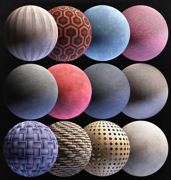 12 Free Pbr Textures For Architecture Carpet And Fabrics Blender 3d Architect