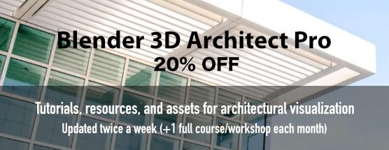 Blender 3D Architect Pro